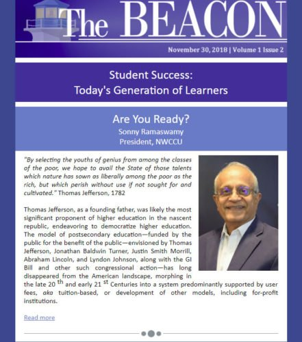 Link to The Beacon Newsletter, Vol. 1 Issue 2